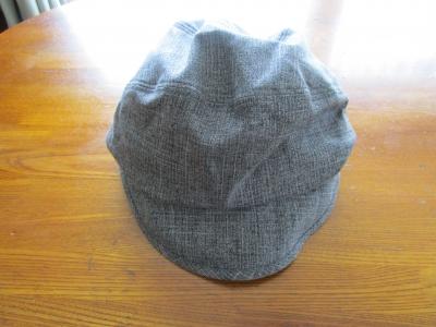 オールシーズン使えそう…風に強い帽子