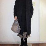 ワンピース+GUレオパード柄390円スカート・・・いまだ健在!