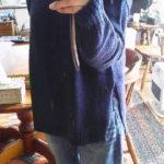 titivateネイビーのセーター