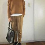 着丈の短いセーター
