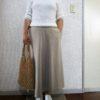 安かったGUのスカート・・・着る人がねぇ・・・残念!