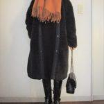 久しぶりのロングブーツは暖かい♡