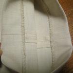 ユニクロ製品は購入した後でも、ユニクロ店舗に持って行くと裾直しをしてくれる